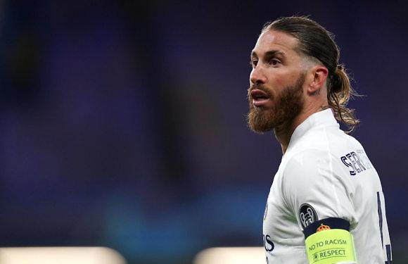 Sergio Ramos vuelve a lesionarse