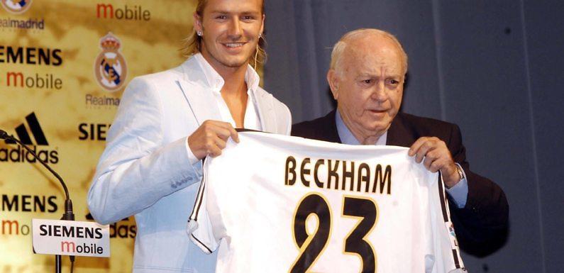 Los mejores momentos de David Beckham en el Real Madrid