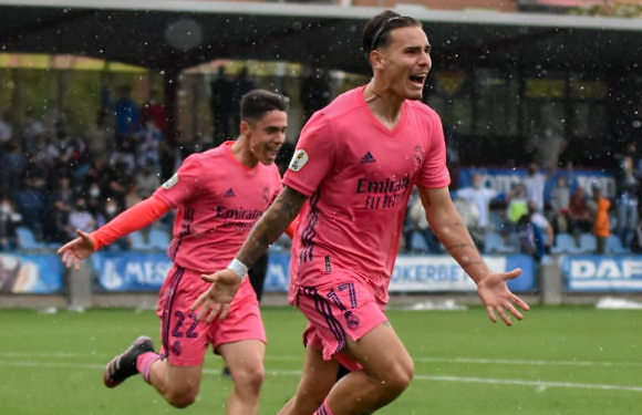 RM Castilla | El Castilla jugará el playoff de ascenso (2-4)