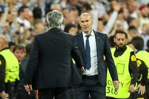 zidane ancelotti real madrid