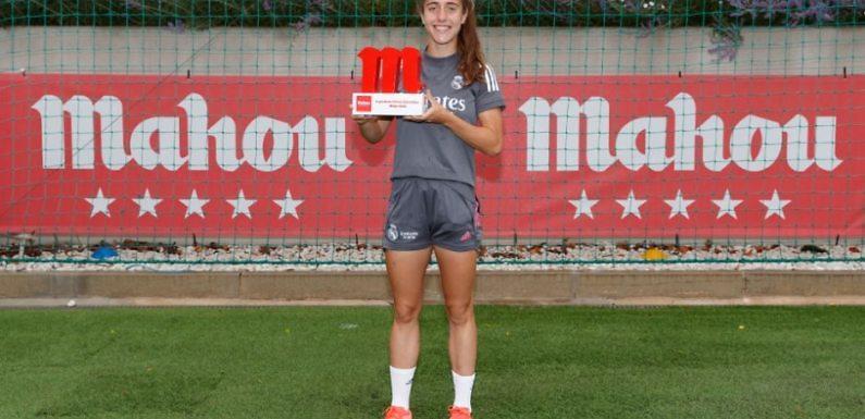 Maite Oroz, premiada como Jugadora Cinco Estrellas Mahou de mayo