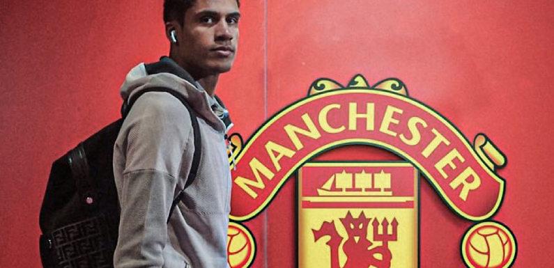 Varane habla con el United, pero no descarta quedarse