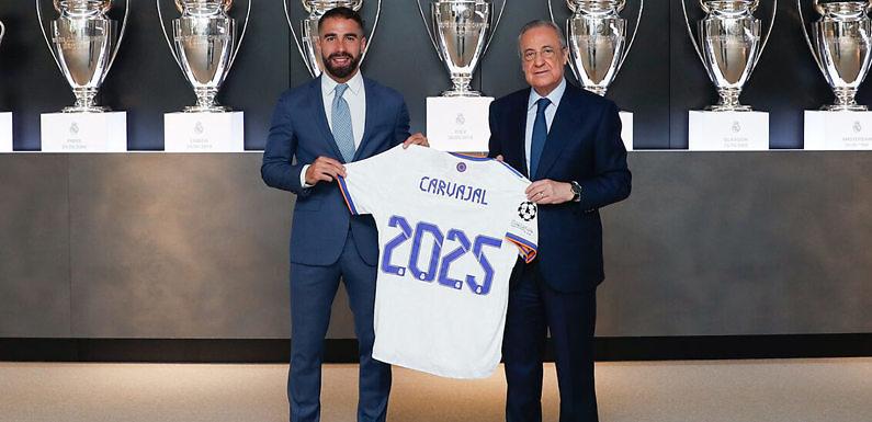Dani Carvajal, renovado hasta 2025