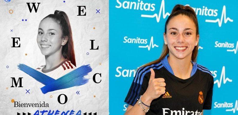 Athenea, el séptimo fichaje del Real Madrid Femenino