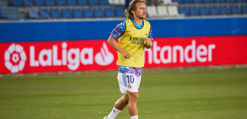 Luka Modric se lesiona y será baja para el partido contra el Levante