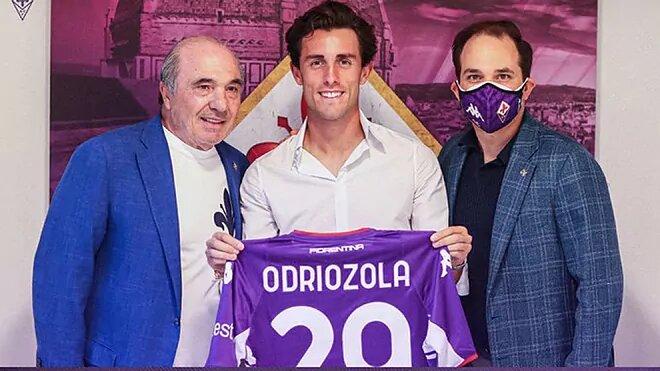 Álvaro Odriozola, cedido a la Fiorentina