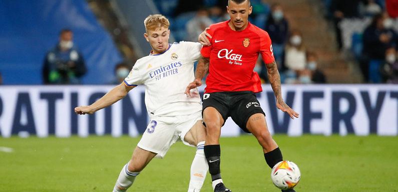 Debut con goleada, el estreno soñado de Sergio Santos con el Real Madrid