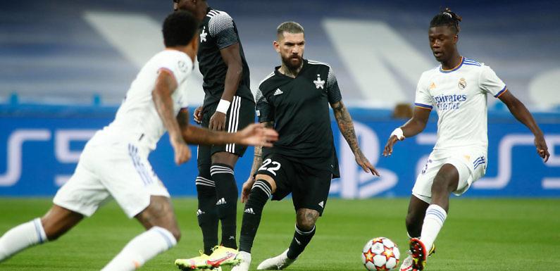 Crónica Real   Los blancos pierden tres puntos ante el Sheriff moldavo