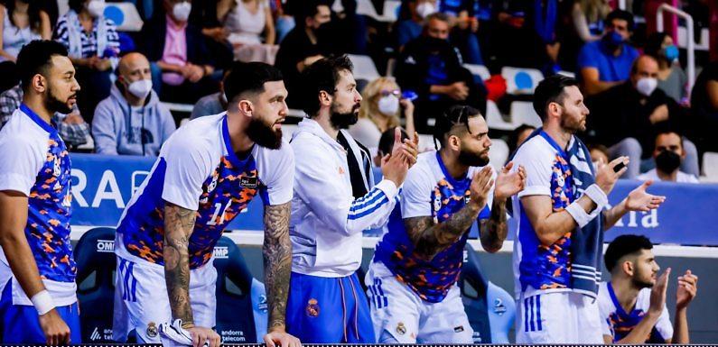 Liga Endesa | El Madrid domina en la victoria frente al Andorra (58-86)