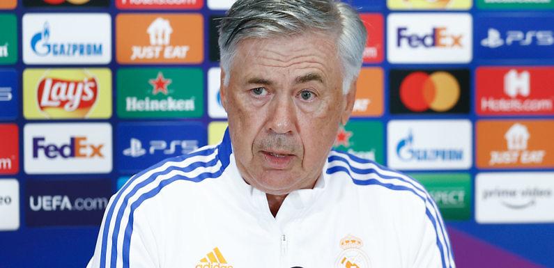 Carlo Ancelotti: «¿Real Madrid favorito de la Champions? Es difícil decirlo»