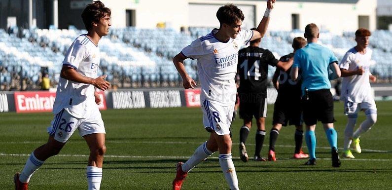 UEFA Youth League   Goleada ante un rival inferior (4-1)