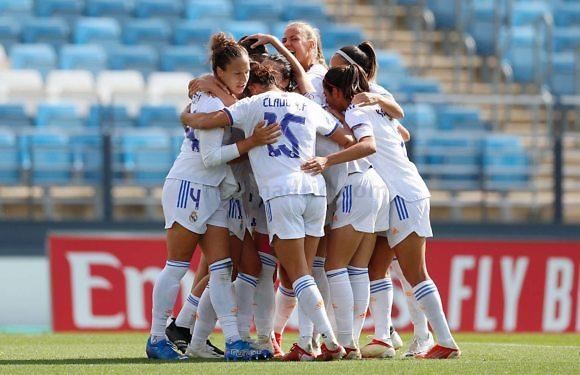 El Real Madrid femenino consigue su primera victoria en liga de esta temporada
