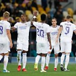 alaba vinicius jr real madrid celebracion gol shakhtar champions league