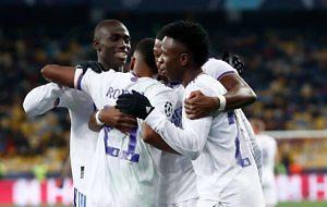 Rodyrgo Goes Real Madrid gol Shakhtar