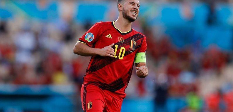 Hazard se vuelve a Madrid por una posible lesión muscular