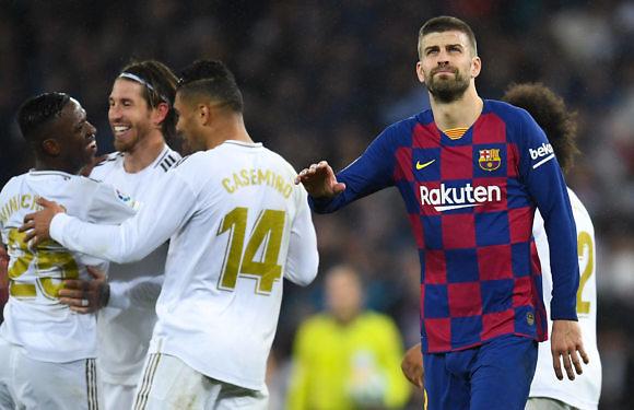 El Real Madrid domina los números sobre el FC Barcelona